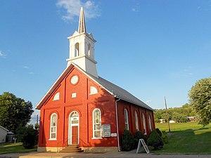 Shirleysburg, Pennsylvania - Image: Shirleysburg PA United Methodist