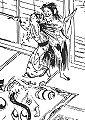 ShokokyHyaku Abe Sobei's wife's ghost.jpg