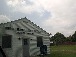 English: United States Post Office on VT Route...