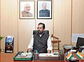Shri Mukhtar Abbas Naqvi takes charge as the Minister of State (Independent Charge) for Minority Affairs, in New Delhi on July 13, 2016.jpg