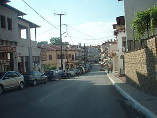 Siatista Place in Greece