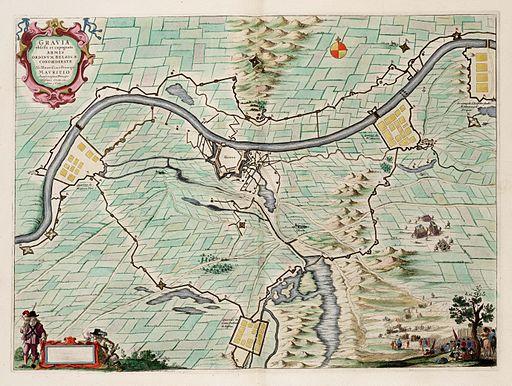 Siege of Grave by Maurice of Orange (1602) - Gravia Obsessa et Expvgnata