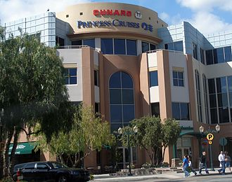Santa Clarita, California - Princess Cruises headquarters in Santa Clarita