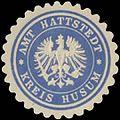 Siegelmarke Amt Hattstedt Kreis Husum W0387163.jpg