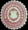 Siegelmarke Bürgermeisteramt Stockerau W0318063.jpg