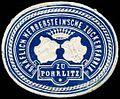 Siegelmarke Gräflich Nerbersteinsche Zuckerfabrik zu Pohrlitz W0309539.jpg