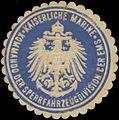 Siegelmarke K. Marine Kommando der Sperrfahrzeugdivision der Ems W0348212.jpg