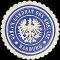 Siegelmarke K. Pr. Landrat des Kreises - Harburg W0216038.jpg