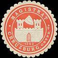 Siegelmarke Magistrat Creuzburg-Ostpreussen W0369010.jpg