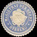 Siegelmarke Magistrat der Stadt - Strelno W0235529.jpg