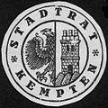 Siegelmarke Stadtrat - Kempten W0227951.jpg
