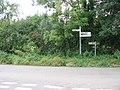 Signpost, Parbrook - geograph.org.uk - 567264.jpg