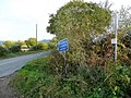 Signs at the foot of Gretton Hill - geograph.org.uk - 1549060.jpg
