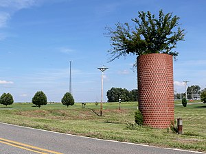 North Carolina Highway 27 - Image: Silo 27527