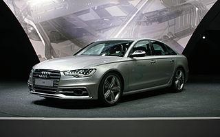 Audi S6 Motor vehicle
