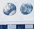 Silver venetian soldino of Doge Michele Steno, 1400-1413 (FindID 193610).jpg