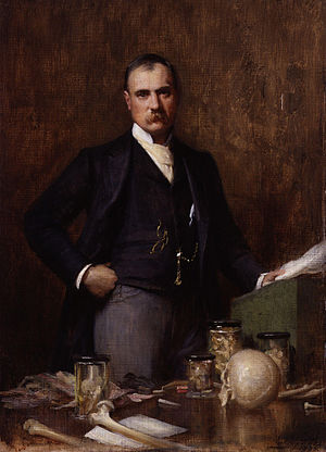 Sir Frederick Treves, 1st Baronet - Painting of Treves by Luke Fildes in 1896.