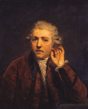 Sir Joshua Reynolds - Self-Portrait as a Deaf ...