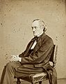 Sir Richard Owen. Photograph by Ernest Edwards, 1867. Wellcome V0028401.jpg