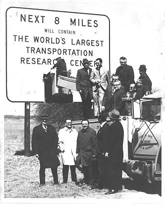 Transportation Research Center - Image: Site Inspection & Sign Unveiling (4927)