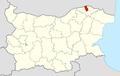 Sitovo Municipality Within Bulgaria.png