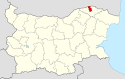 Sitovo Municipality Within Bulgaria.png