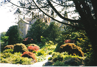 Sizergh Castle and Garden - Sizergh Castle and part of the garden