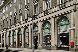 Nowa Huta - A socialist realist bookstore in central Nowa Huta