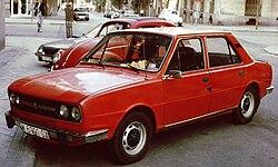 Škoda 120 LS, provedení 1980-83