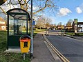 Small Copper bus stop, Momples Road, Harlow, April 2021 (1).jpg