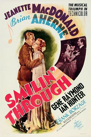 Smilin' Through (1941 film) - Theatrical release poster
