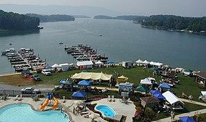 Smith Mountain Lake - Image: Smith Mtn Lake VA