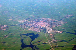 Aerial view of Sneek