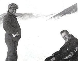 Instituto Antártico Argentino - Sobral with Nordenskjöld, circa 1903.