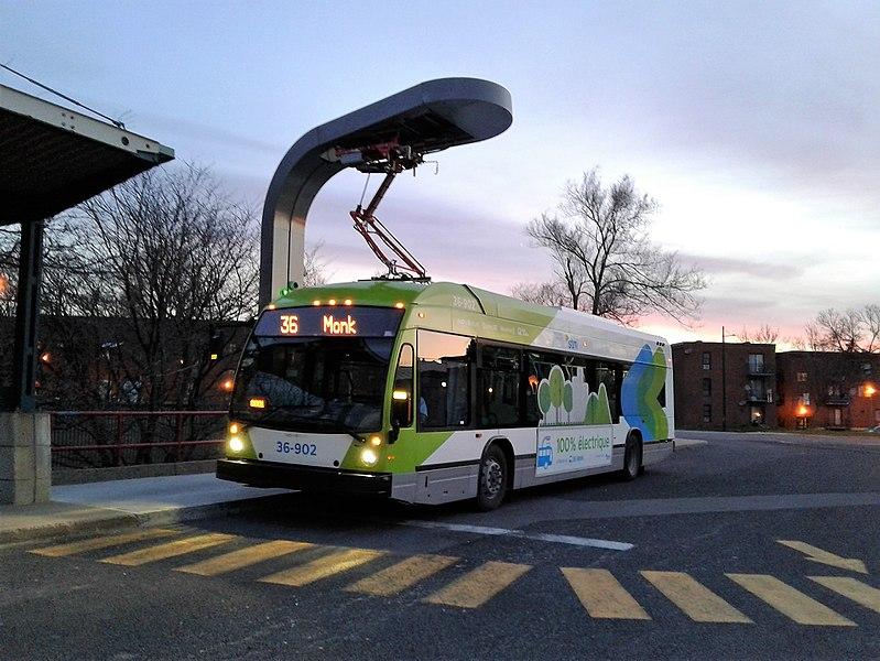Transporte publico no Quebec