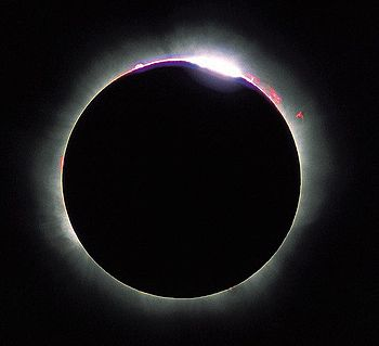 English: The 1999 Solar eclipse in France (Vie...