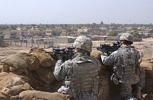 16th Infantry Regiment (United States) - 16th Infantry Regiment soldiers in Baghdad in March 2007