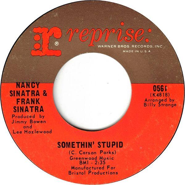 File:Somethin' Stupid by Frank and Nancy Sinatra.jpg