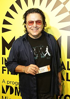 Songwriter Rudy Perez at SUPERMENSCH screening.jpg
