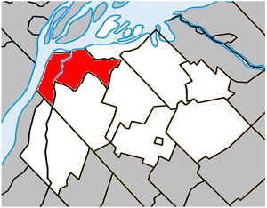 Sorel-Tracy - Image: Sorel Tracy Quebec location diagram