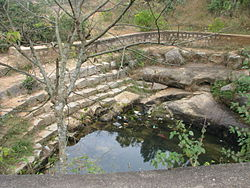 Source of Arkavathy River at Nandi Hills