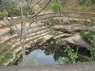Arkavati - Source of Arkavathy River at Nandi Hills