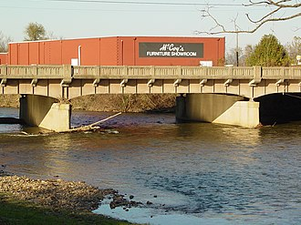 South River (South Fork Shenandoah River tributary) - South River in Waynesboro