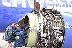 Southwest Airlines Flight 1380 NTSB Engine Inspection 3 PHL KPHL.jpg