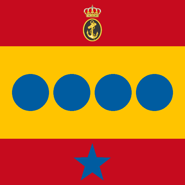 Spanish Chief of Staff of the Navy flag
