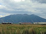 Spanish Fork Peak from Spanish Fork-Springville Airport, Jun 16.jpg