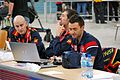 Spanish staff - FIVB World Championship European Qualification Women Łódź January 2014.jpg