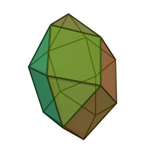 Octadecahedron - Image: Square gyrobicupola