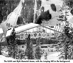 Blyth Arena Squaw Valley 1960