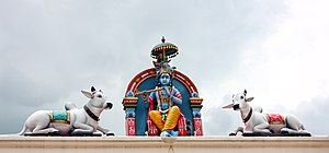 Cattle in religion and mythology - The Hindu god Krishna is often shown with cows listening to his music.
